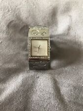 Guess Square Silver Watch
