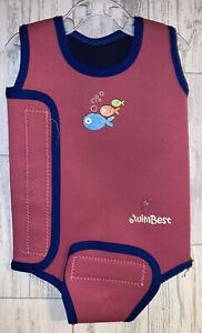 Girls 6-12 Months - Swim Best Swimming Warm Suit - Wraparound Wet Suit