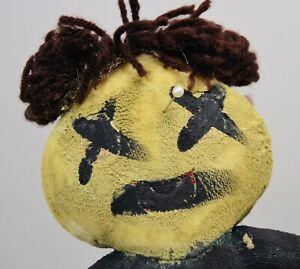 voodoo doll Halloween upcycled ooak decor