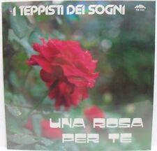I TEPPISTI DEI SOGNI - UNA ROSA PER TE -LP 33 giri-MIA RECORDS PM 1622-sigillato