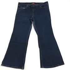 "Dickies Womens Blue Denim Bootcut Jeans Size 20 Inseam 29"""