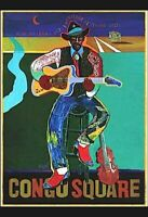 New Orleans Jimmy Saxon Jazz Band Great Music Vintage Poster Repro FREE S//H