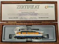 Trix Spur N Minitrix 16164 Diesellok BR V 216 WEG Lollo in Holzkiste &Zertifikat