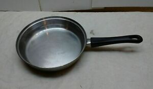 """Tramontina Stainless 8.5"""" Skillet Stir Fry Saute Sauce Pan Omelette Egg No Lid"""