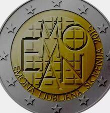 Slovenia Coin 2€ Euro 2015 Commemorative EMONA new UNC from Roll