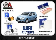 Kit tagliando Fiat Punto 188 1.3 Multijet JTD Originali UFI 4 filtri