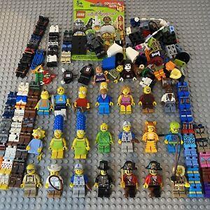 Large LEGO Minifigure Series Bundle Job Lot Spare Parts Pirate Legs Grandpa CMF