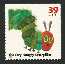 The Very Hungry Caterpillar Eric Carle US Postage Stamp of Book MINT CONDITION!