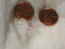 Pale Pink Sapphire 0.60 Carats 4.63x6.06x2.67 MM. Oval Slight Natural Inclusions