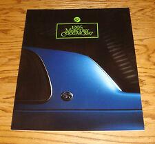 Original 1995 Mercury Cougar XR7 Deluxe Sales Brochure 95