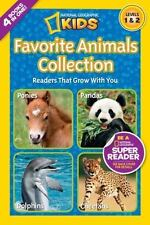 National Geographic Readers: Favorite Animals Collection-ExLibrary
