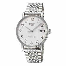 Tissot Men's T1094071103200 Desire 40mm Silver Dial Stainless Steel Watch