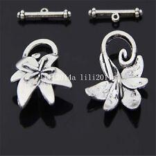 20set Tibetan Silver Toggle Clasps For Necklace Bracelet Clasp Bead  PL535