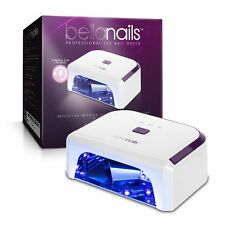 BellaNails Professional 21W LED Nail Lamp, Removable Base Tray, Auto On / Off