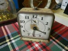 old alarm clock by Gilbert clock corp, USA