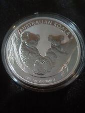 2011 1oz .999 Fine Silver Australian Koala Coin  - Natural toning on Back Rim -