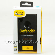 OtterBox Defender iPhone X & iPhone Xs Shell Case w/Holster Belt Clip Black Uesd