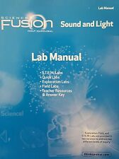 Science Fusion Sound and Light Lab Manual J