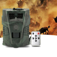 HD1080P 12MP Digital Hunting Camera Outdoor Animal Scouting IR Security Hunt Cam