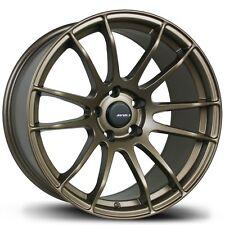 Avid1 AV20 Rims 18x8.5 +33 18x9.5 +38 5x100 Bronze Scion FRS Subaru BRZ