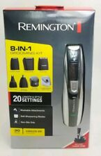 Remington Rechargeable Hair Clipper beard trimmer Men 8-in-1 Grooming Kit PG350