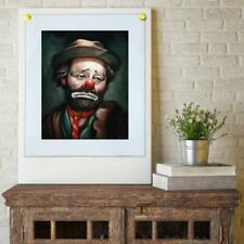 "8""x10"" Emmett Kelly Hobo Clown Painting HD Prints on Canvas Home decor Wall art"