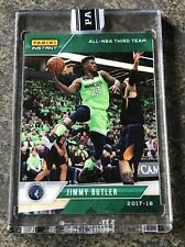 Jimmy Butler 2017-18 Panini Instant All NBA Team Green /10 No RC Refractor Auto