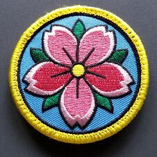 "Sakura Patch  - 2.5"" circle - cherry blossom"