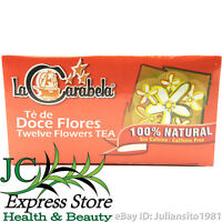 TE DE DOCE FLORES 100% NATURAL SIN CAFEINA TWELVE FLOWERS TEA WITHOUT CAFFEINE