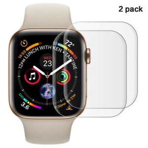 2 Pack Tempered Glass Screen Protector For Apple Watch Series 3/4/5 38-44mm do