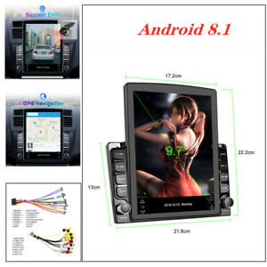 """9.7"""" Android 8.1 HD screen HD 2.5D explosion-proof glass car MP5 player Set"""