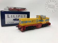 Liliput 112406 Locomotiva Diesel per Treni cantiere CLF Bologna - invecchiato