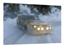 Audi S1 Quattro - 30x20 Inch Canvas Art - Framed Picture Group B Rally Print