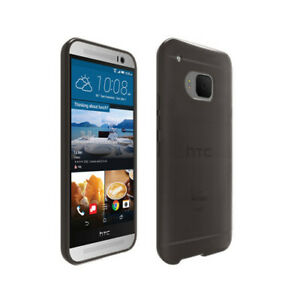 Verizon High Gloss Silicone Case for HTC One M9 (Gray)