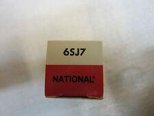 NATIONAL 6SJ7 VACUUM TUBE