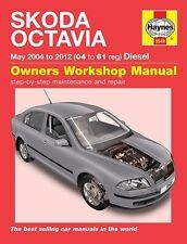 Haynes Manual 5549 Skoda Octavia 1.9 TDI 2.0 TDI PD Classic Ambiente 2004-2012