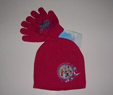 DISNEY FAIRIES FLITTERIFIC Winter Beanie Hat & Glove Set NWT!
