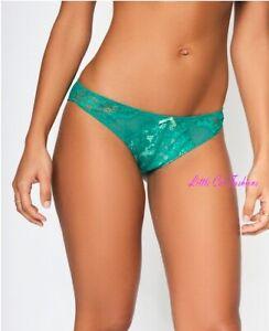 Ann Summers Timeless Affair Brazilian Mint Green size 12 Free post NWT