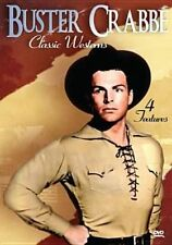 Classic Westerns Buster Crabbe Four F 0089859552427 DVD Region 1