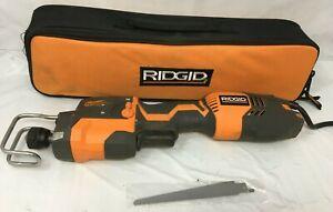 Ridgid R3031 Thru Cool 6 Amp Fuego Orbital Reciprocating Saw, GR