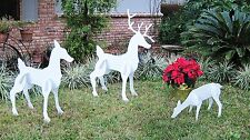 Christmas Outdoor Reindeer Family, Christmas Deer Set Inflatable Decoration