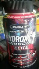 Muscletech Hydroxycut Hardcore Elite 100 caps Super Thermogenic LOSE WEIGHT