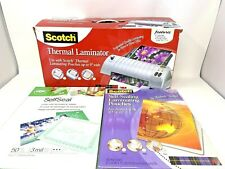 Scotch Thermal Laminator TL901 Professional Quality 2 Heat Settings Jam Release