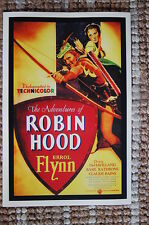 The Adventures of Robin Hood Lobby Card Movie Poster Errol Flynn