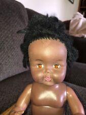 """African American Black Drink And Wet Doll Sleepy Eyes 14"""""""