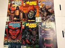 Planet of the Apes #1 2 3 4 5 6 Comic Book Set Dark Horse 2001