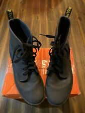 Dr Martens Womens Shoreditch Ankle Boots Leather USSize 8 Black Grunge Punk Goth
