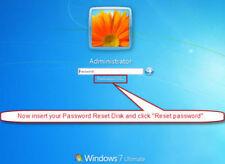 "Windows Password Recovery Reset & bypass CD Windows  7  ""PC LOGIN"""