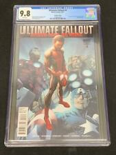 ULTIMATE FALLOUT #4, (2011), Marvel Comics, CGC 9.8, 2nd Print, SPIDER-MAN