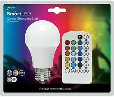 TCP SMART LED COLOUR CHANGING E27 BULB WITH REMOTE CONTROL - NEW & SEALED UK